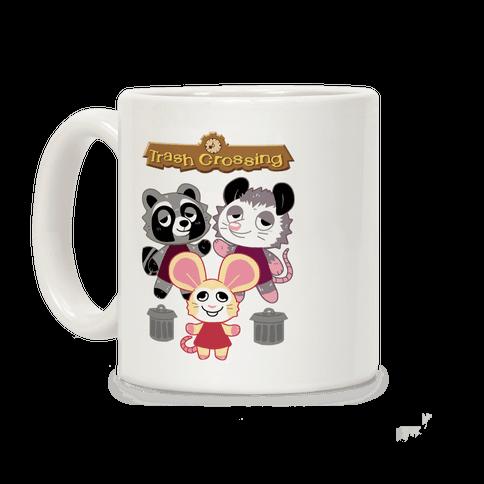 Trash Crossing Coffee Mug
