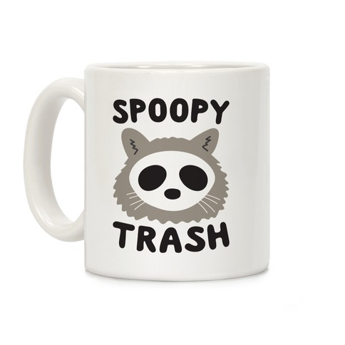 Spoopy Trash Raccoon Coffee Mug