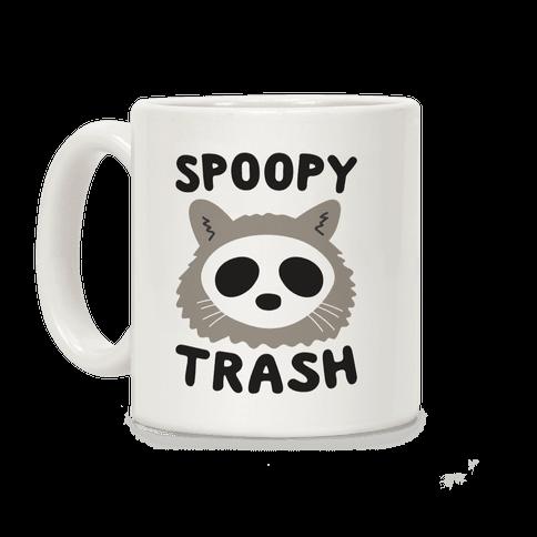 Spoopy Trash Raccoon Coffee Mug