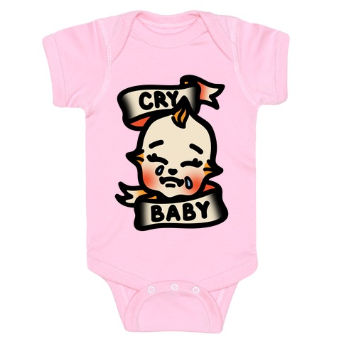 Cry Baby  Baby One-Piece