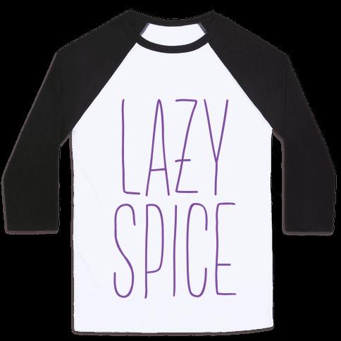 Lazy Spice Baseball Tee