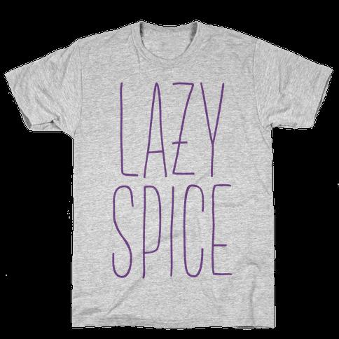 Lazy Spice Mens T-Shirt