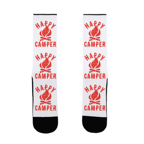 Happy Camper Sock