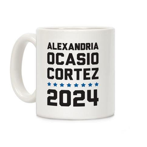 Alexandira Ocasio-Cortez 2024 Coffee Mug