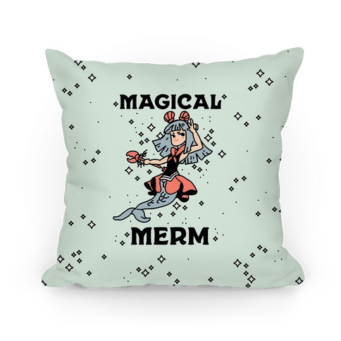 Magical Merm Pillow