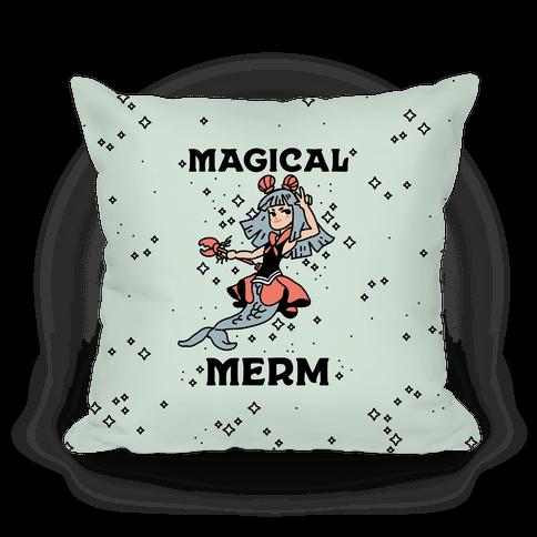 Magical Merm Pillow