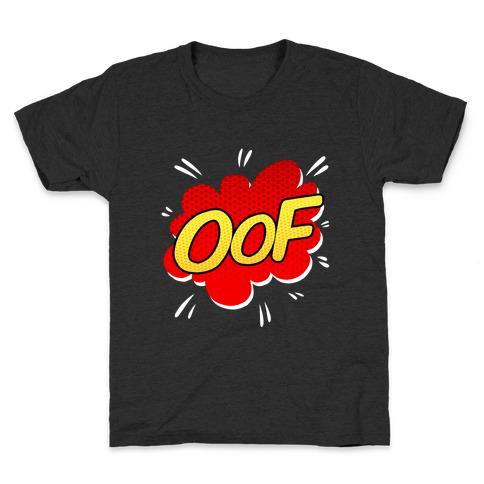 OOF Comic Sound Effect Kids T-Shirt