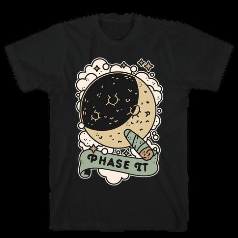 Phase it Moon Mens/Unisex T-Shirt