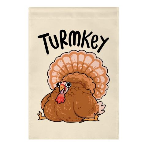Turmkey Derpy Turkey Garden Flag