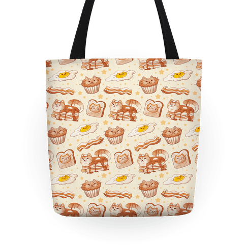 Breakfast Cats Tote