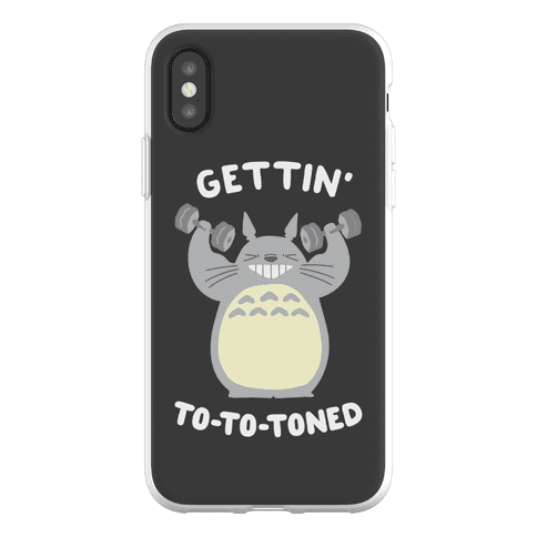 Gettin' Tototoned Phone Flexi-Case
