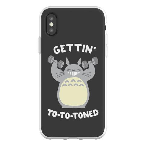 Gettin' Tototoned Phone Flexi-Case