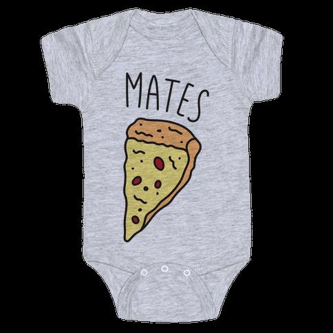 Soul Mates Pizza 2 Baby Onesy