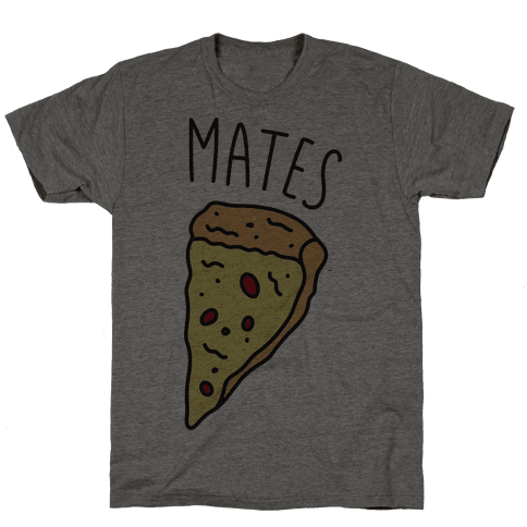 Soul Mates Pizza 2 Mens T-Shirt