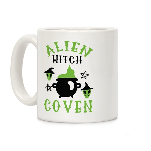 Alien Witch Coven Coffee Mug