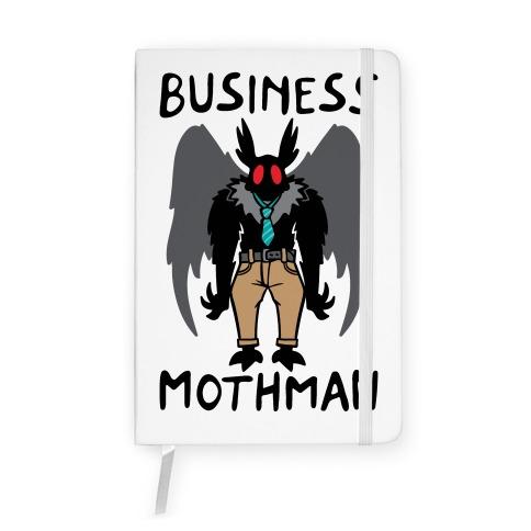 Business Mothman Parody Notebook