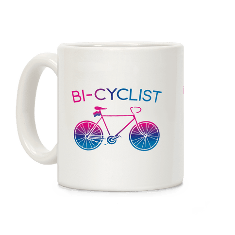 Bisexual Bi-Cyclist Coffee Mug