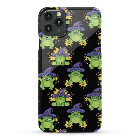 Magical Frog Witch Pattern Phone Case