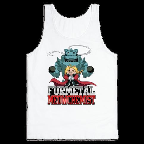 Furmetal Meowchemist Tank Top