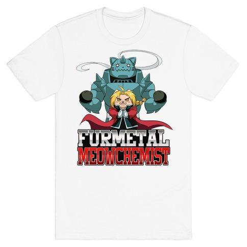 Furmetal Meowchemist T-Shirt