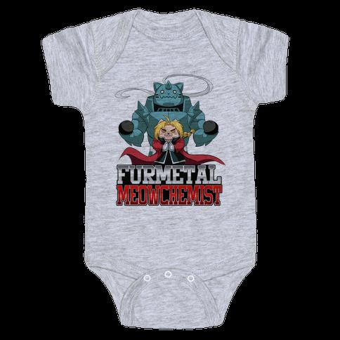 Furmetal Meowchemist Baby Onesy
