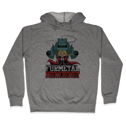 Furmetal Meowchemist Hooded Sweatshirt