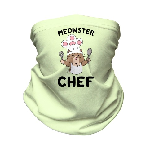 Meowster Chef Neck Gaiter