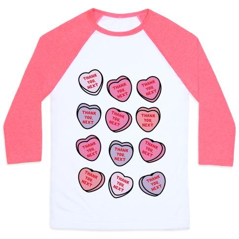 Thank You Next Candy Hearts Baseball Tee