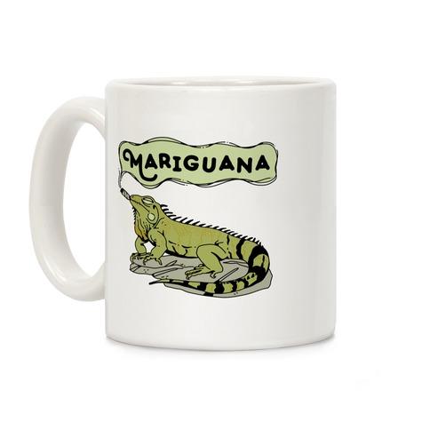 Mariguana Marijuana Iguana Coffee Mug