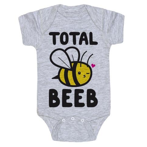 Total Beeb Bee Baby Onesy