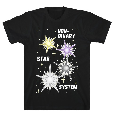 Non-Binary Star System T-Shirt