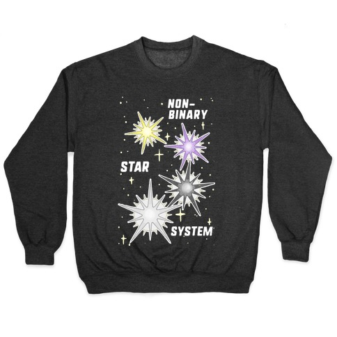 Non-Binary Star System Pullover