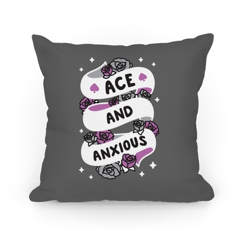 Ace And Anxious Pillow