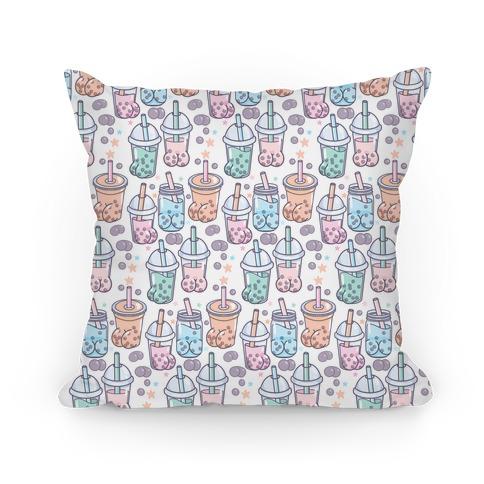 Boba Butts Pattern Pillow