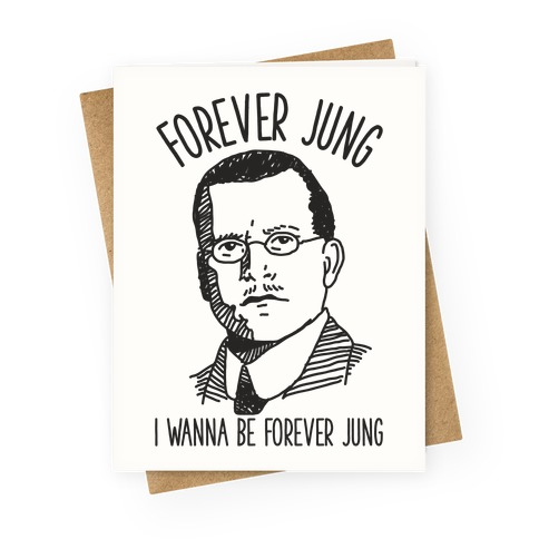 Forever Jung Greeting Card
