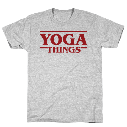Yoga Things Mens T-Shirt