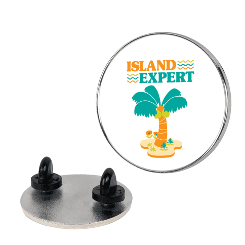 Island Expert (Animal Crossing) Pin