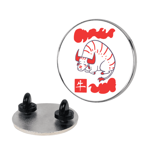 Ox - Chinese Zodiac pin