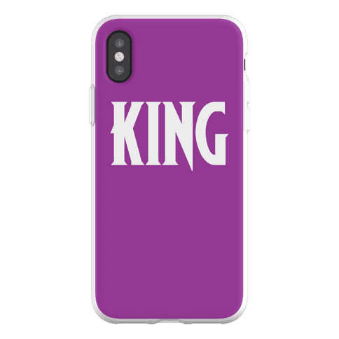 King Parody Phone Flexi-Case