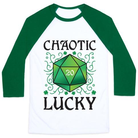 Chaotic Lucky Baseball Tee