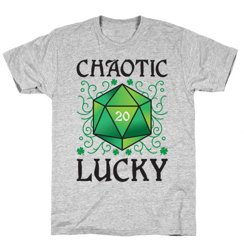 Chaotic Lucky Mens/Unisex T-Shirt