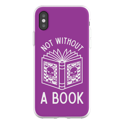 Not Without a Book Phone Flexi-Case