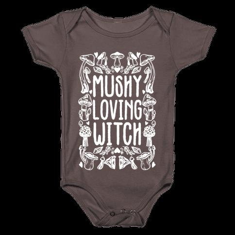 Mushy Loving Witch Baby One-Piece