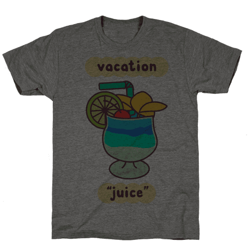 "Vacation ""Juice"" Mens/Unisex T-Shirt"