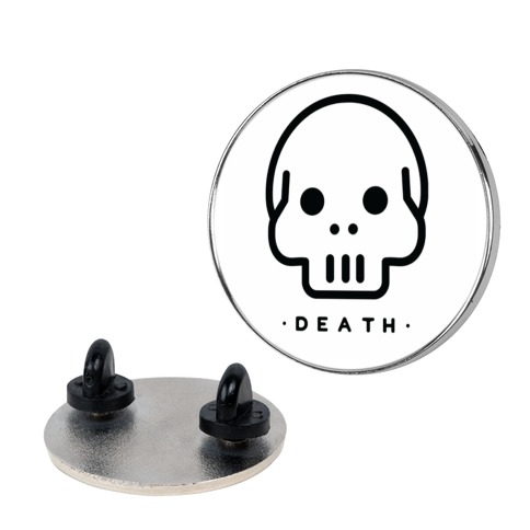 Death Tarot pin