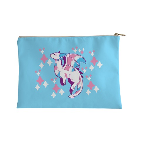 Trans Pride Dragon Accessory Bag