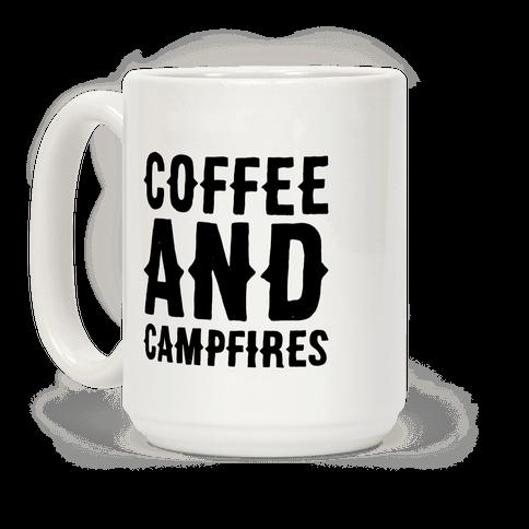 Coffee And Campfires Coffee Mug