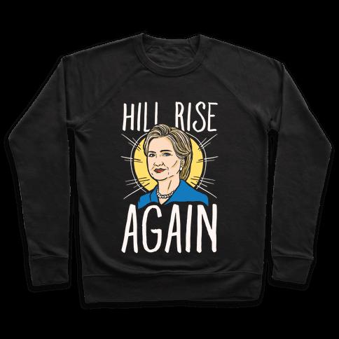 Hill Rise Again White Print