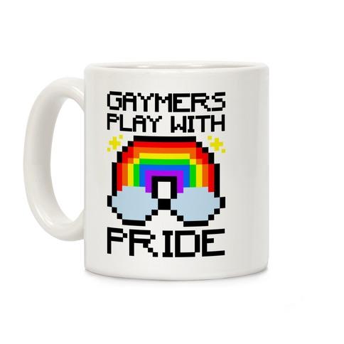 Gaymers Play With Pride  Coffee Mug