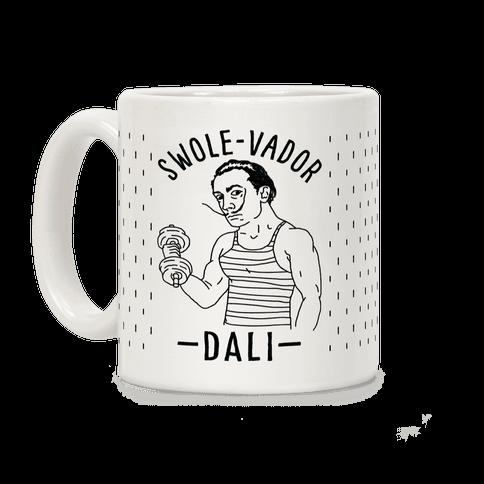 Swole-vador Dali Coffee Mug